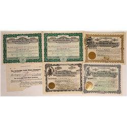 Colorado Mining Stock Certificate Group  [113982]
