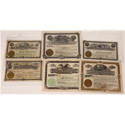 Montana / Idaho Border Mining Stocks  [123965]