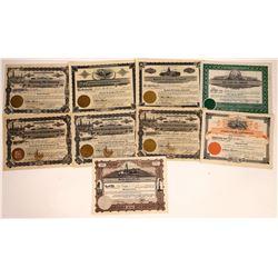 Idaho Oil Stocks Issued 1913-1938 (9)  [128730]