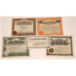 Oil Drilling Company Stock Certificates  [127906]