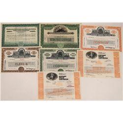 Oil Pipeline Company Stock Certificates  [127903]
