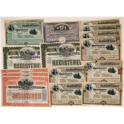 Lehigh Valley RR Stocks  [122479]