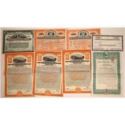 Various Railroad Stocks & Bonds  [113891]