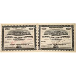 California Navigation & Improvement Company Stocks, 1908 (2)  [128605]