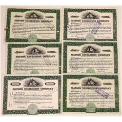 Matson Navigation Company Stock Certificates  [113999]