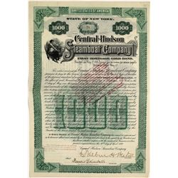 Central Hudson Steamboat Company Bond Certificate, 1899  [128597]