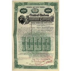 Central Hudson Steamboat Company Gold Bond, 1899  [128579]