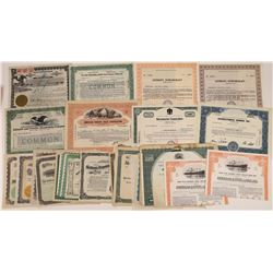 Docks, Wharfs, Barges and Shipping Stock Certificates (29)  [128630]