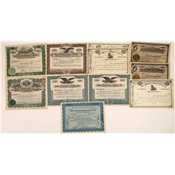 Shipping & Transporation Stock Certificate Group (11)  [128626]