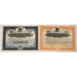 Dearborn Truck Company Stock Certificates  [127937]