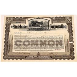 Studebaker Corporation Stock Certificate  [127951]