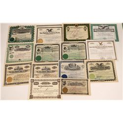 Arizona Banking Stock Certificates  [127859]