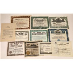 Los Angeles Area National Bank Stock Certificates  [127874]