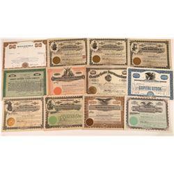 Big Equipment Manufacturing Company Stock Certificates  [128447]