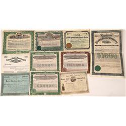 Building Stone Company Stock Certificates  [128429]