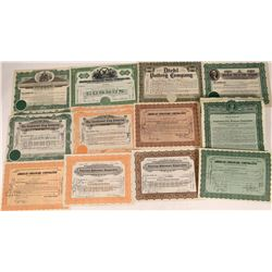 Clay, Pottery & Tile Company Stock Certificates  [128273]