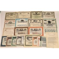 Eastern Water Company Stock Certificate Collection  [127904]
