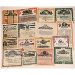 Electric Lighting Company Stock Certificate Collection  [127883]