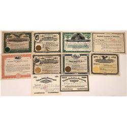 Industrial Building Material Stock Certificates  [128428]