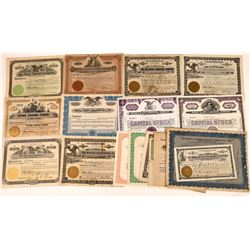 Logging and Timber Company Stock Certificates  [128439]