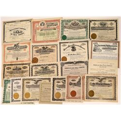 Miscellaneous Stocks from Eastern Companies With Some Oddities (20)  [118767]