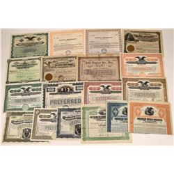 Motor & Engine Company Stock Certificate Collection  [127881]