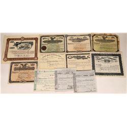 Nineteenth Century Stock Certificates  [128302]