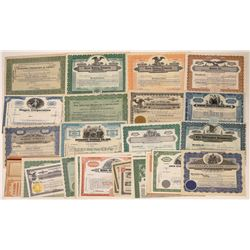 D and E Surname Stock Certificates (30)  [118780]