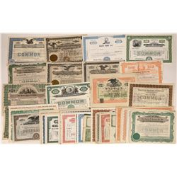 H and I Surname Company Stock Certificates (52)  [118775]