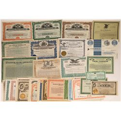 R, U and T Surname Company Stock Certificates (40)  [118774]