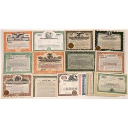 Printing Companies Stock Certificate Collection  [128433]