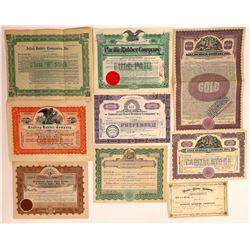 Rubber Company Stock Certificates  [128450]