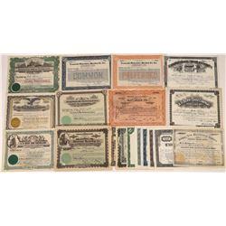Shoe Company Stock Certificates  [128430]