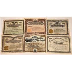 Steam and Hydroelectric Power Company Stock Certificates  [127902]