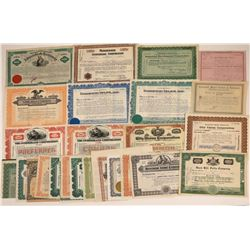 Real Estate Companies Stock Certificate Collection  [127888]