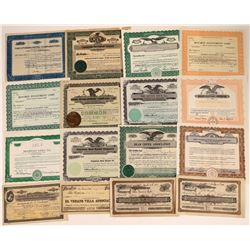 Western Real Estate Companies Stock Certificate Collection  [127891]