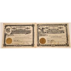 Rare Nevada Stock Certificates  [127899]