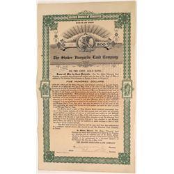Shaker Vineyards Land Company Gold Bond   [127940]