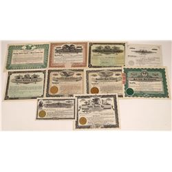 Utah Stock Certificate Collection  [127885]
