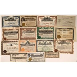 Farm & Farm Equipment Stock Certificate Collection  [127893]
