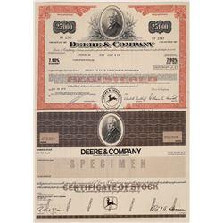 John Deere & Company Stock Certificates  [128308]