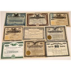 Ice Company Stock Certificate Collection  [127887]