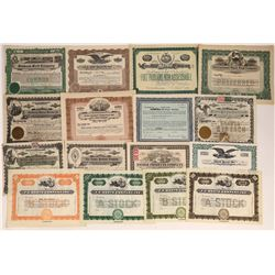 Food Production Companies Stock Certificate Collection  [128295]