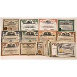 Clothing Company Stock Certificate Collection  [128445]