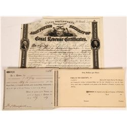 Early Stock Certificates  [128299]