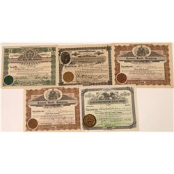 Knife & Cutlery Company Stock Certificates  [128444]