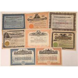 Laundry Company Stock Certificates  [128443]