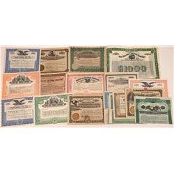 Lumber Company Stock Certificates  [128440]