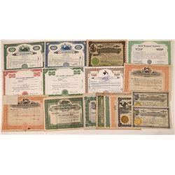 Office and Business Machine Company Stock Certificates  [128438]