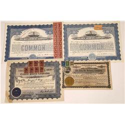 Revenue Stamp Stock Certificates  [127894]